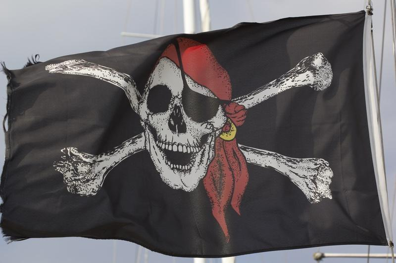 O pirata não tem um olho, mas você não precisa fechar os seus. Peças piratas nunca mais!