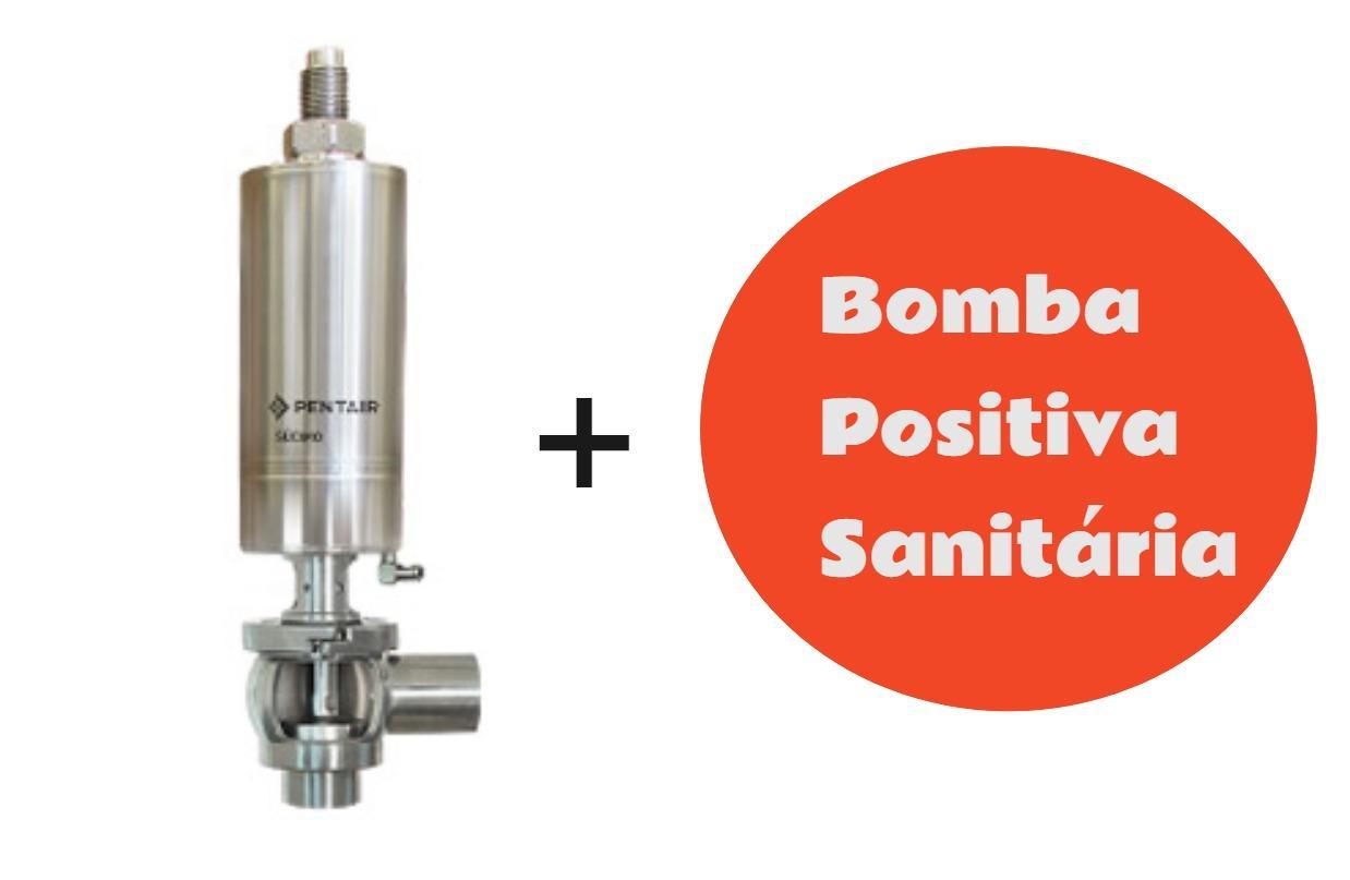 Se sua bomba positiva não possui válvula de alívio, ela está correndo perigo!